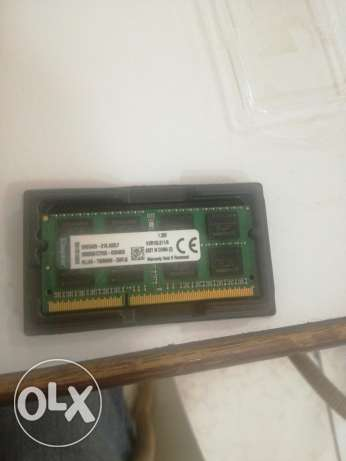 8GB Kingston ddr3 laptop