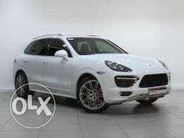 Approved Porsche Cayenne GTS Tiptronic (WHITE)