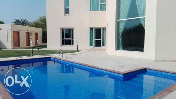 modrn semi furnished villa private pool close to saudi auseway 1600