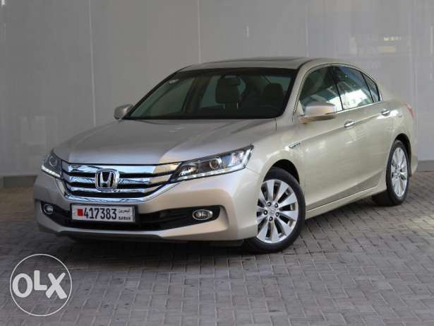 Honda Accord 4Dr 2.4L EXi-B Leather 2015 Beige للبيع