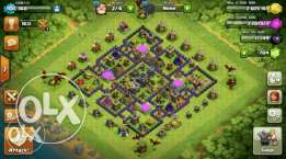 Coc townhall 9 acc for sale