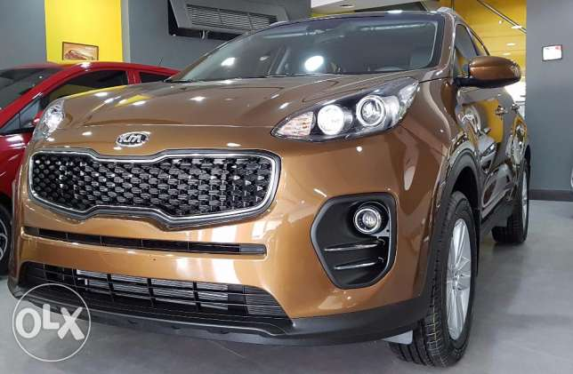 Kia Sportage 2017 full option 0KM for only BD.8495 on Road