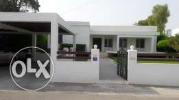 Homely 3 BR compound villa for rent BD.650/- semi furn exc.