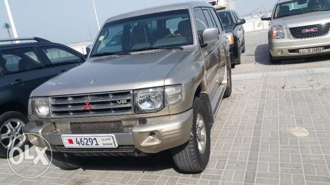 Hi I want to urgent sale mitsubishi pajero model 1998