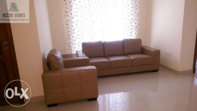 Spacious , Fully Furnished 2 BHK flat in Hidd at BD 400/Month