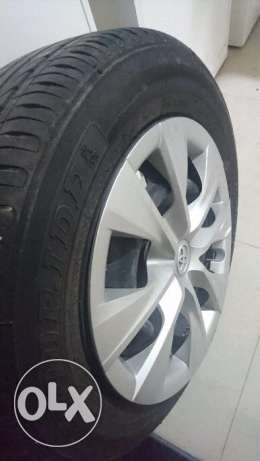 Original 15inch rims with tyre