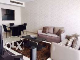 Two bedrooms apartment in Amwaj-Island.