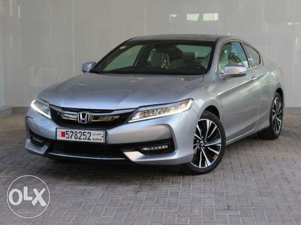 Honda Accord Coupe Sensing 2DR Auto 2016 Silver For Sale
