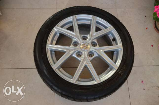 16 inch Enkie/Yokohama wheels and Tire set in brand new condition