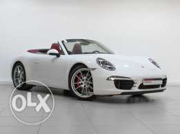 Porsche Approved 911 Carrera S Cabriolet 2012 White