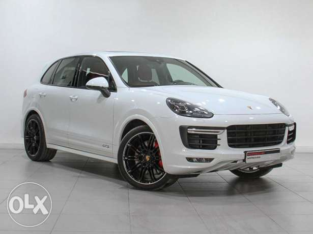 "Porsche Cayenne GTS 2016MY ""Approved"" White"