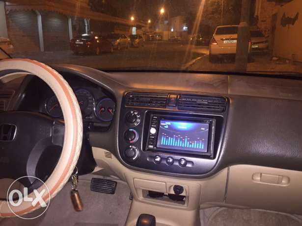 Honda Civic well Maintained with 3DVD