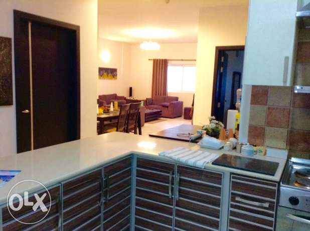 Available now in Amwaj 2 bedroom fully furnished apartment 450 BD
