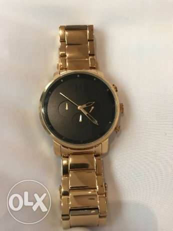 MVMT brand watch for sale - chrome gold