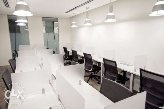 Shared office space for one person with a prestigious address