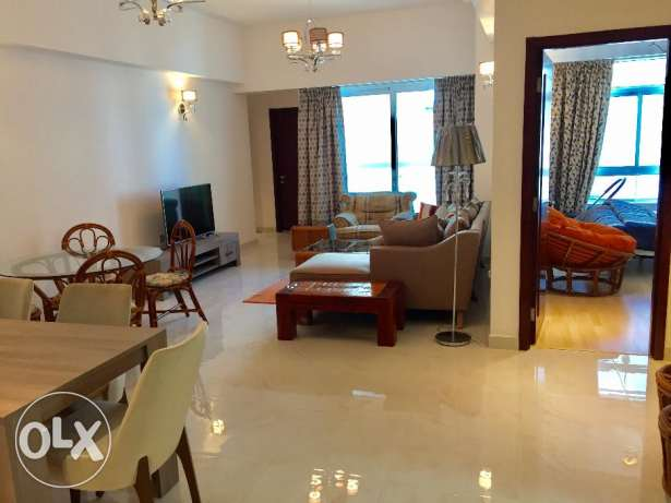 Brand new 2 bedroom flat for rent at Juffair BD700 per month - incl.