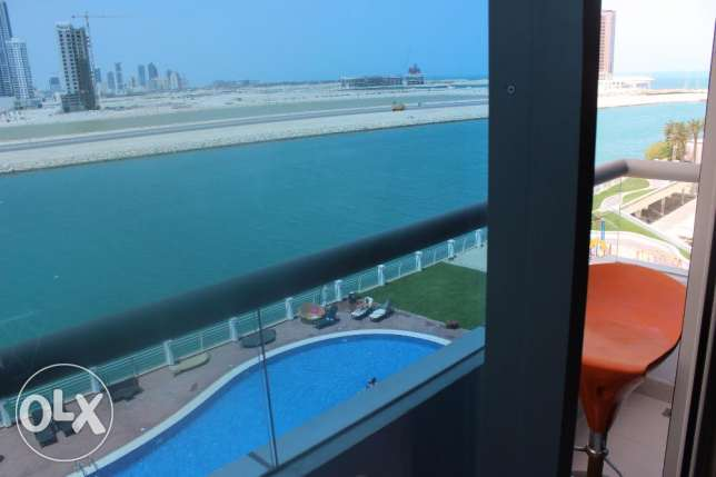 Outstanding Sea view in Seef 2 BR / Balcony