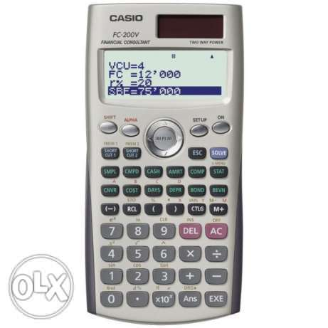 Casio Financial Calculator المحرق‎ -  1
