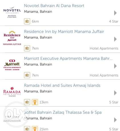 50% off on these hotels in bahrain. contact me for more information