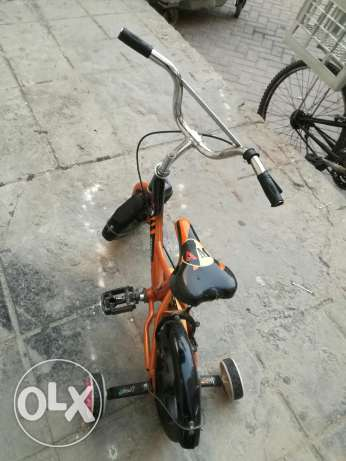 kids bike in throw away price