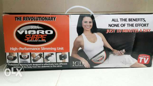 Vibro shape professional slimming belt