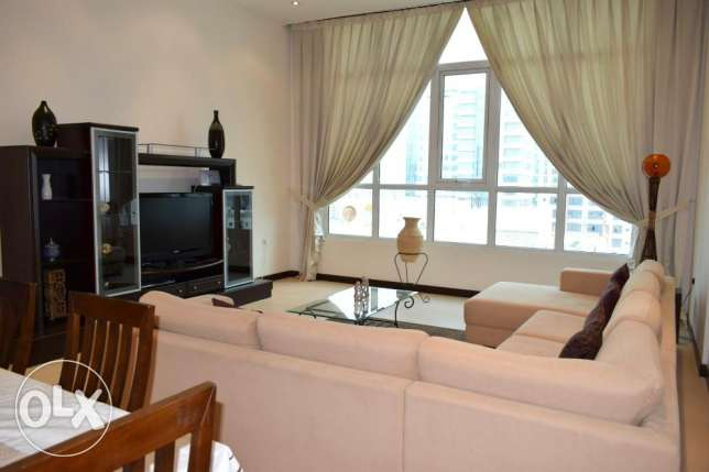 Naturally Well Lit F-Furnished Apartment At Juffair (Ref No: 5JFSH) جفير -  4
