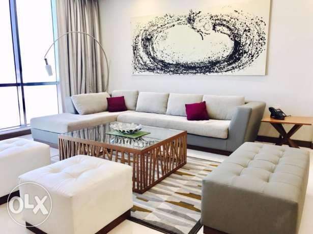 Furnished Luxury apartment for rent in Amwaj Islands