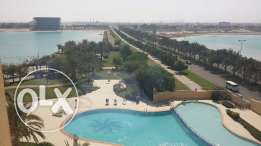 2 Bedrooms flat with meena 7 facilities in amwaj bd550 per month