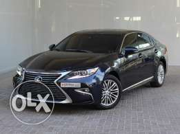 Lexus ES 350 Black 2016 For Sale