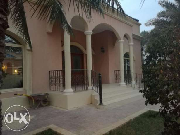 Awesome 4 bedroom semi furnished compound Villa for rent at Saar