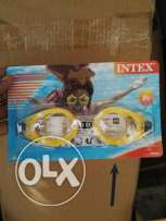 Intex swimming glass