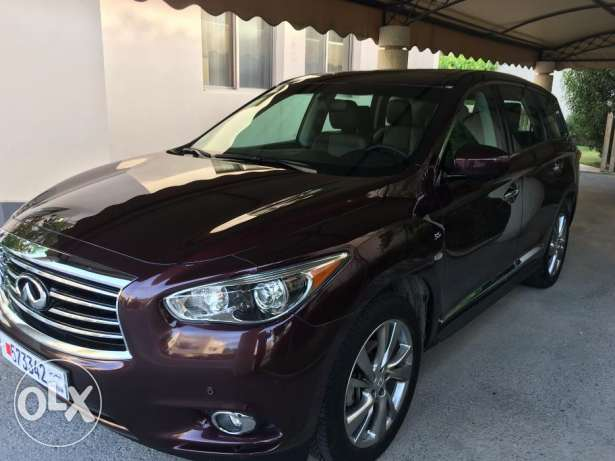 INFINITI 2016 3.5 QX60 - brand new condition. One expat owner from new