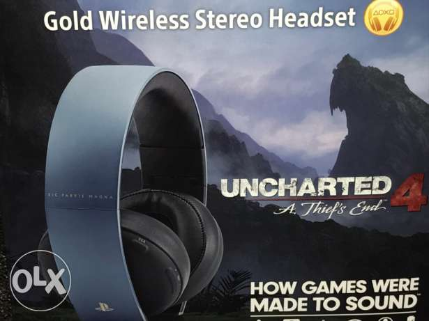 uncharted headset for PS4