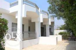 SRA11 4br semi furnished villa for rent in saar close to Saudi Cause w