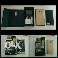 Samsung Galaxy s 7 edge dous gold colour with box and all