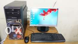 """Intel Core i5 Computer Full Set with 19"""" wide LCD MONITOR"""
