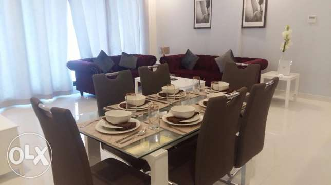 Brand new 2 Bedrooms apartment with modern furniture fully furnished n جزر امواج  -  6