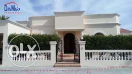 Luxury3BR Semi Furnished Single Storey Villa for rent INCLUSIVE SAAR