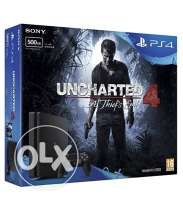 NEW PS4 SLIM 500GB for sale with Uncharted 4 inside it