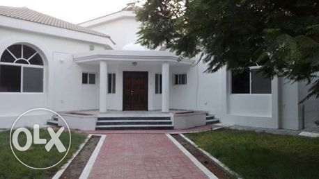 modern villa semi furnished villa with private garden