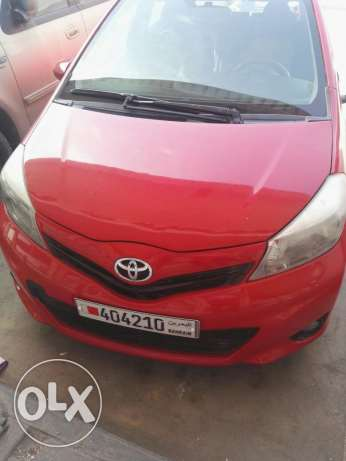 TOYOTA YARIS 2012 hacth back for sale