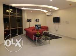 2 bedroom fully furnished apartment/close to khalifa park