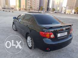 Toyota Corolla 2010 with Sunroof , Alloy wheels, sensors
