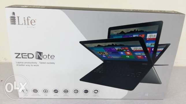 NEW notebook 360° convertible touchscreen laptop boxpack with warranty الرفاع‎ -  3