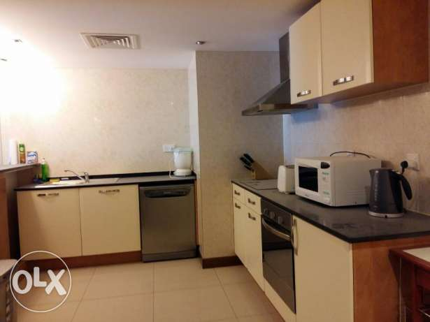 3 bedroom beatutiful flat in Amwaj/fully furnished with gym&pool جزر امواج  -  1