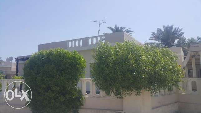 Spacious semi furnished villa located in a quiet area in Barbar