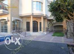 Hamala 6 BR specious modern villa with private pool,garden,garage excl