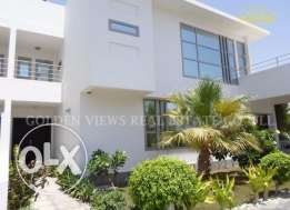 4 Bedroom semi furnished modern villa with private pool,garden