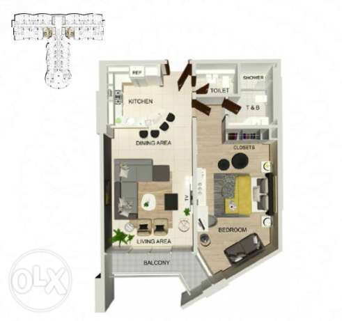 Spacious 1 Bedroom Luxury Apartment soon in Dilmunia المحرق‎ -  8