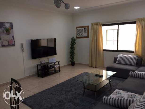 2BHK flat for rent in Juffair for 420BD with gym